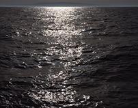 La prima  luce sull'ombra del mare