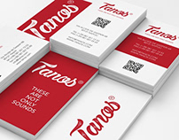 Business Cards - Tanos