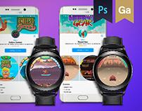 Samsung Gear S3 Games