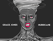 CD COVER (GRACE JONES) HURRICANE