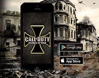 Diseño presentación de juego para celular
