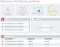 UI Dashboard Design