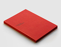 An art catalogue for Ana Guimbra