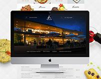 Website Restaurante Moinho do Vale