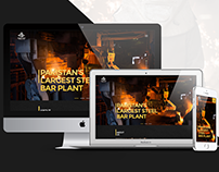 Responsive Web Layout Concept-Amreli Steels