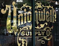 Gold Leaf Window Signs