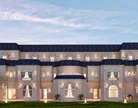 French Style Palace Design | Qatar