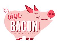 Vive le Bacon | Identité Visuelle