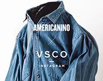 AMERICANINO X VSCO /  Social Media Guide