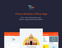 Android app for Prime Minister office(PMO), 2015 entry