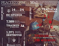 Infographic: Peacekeeping in Mali