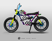 Pop Cycles design for El Solitario MC