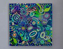 "Canvas ""Bacteria"""