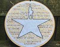 Hamilton Logo Embroidery
