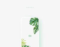Xiaomi Ropot - UI/UX Dseign