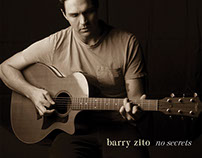 "Barry Zito ""No Secrets"" EP package design / posters"