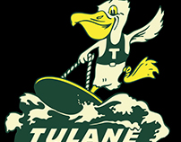 Tulane Libraries Homecoming T-shirt