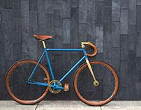 The Horse. Custom Bicycle by Ashton Maxfield Smith