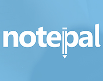 """NotePal"" Project: Logo, Design, and Advertisement"