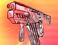Sci fi - Colorful Gun