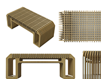 Corrugated Coffee Table