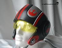 Poe Dameron X-wing cosplay helmet 1:1