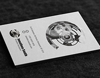 Simple Photography Corporate Business Card