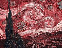 Coronavirus Van Gogh (COVID-19)