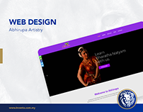 Web Design - Abhirupa Artistry