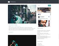 Blog - Photography WordPress Theme