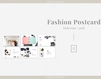 Free Fashion Postcard