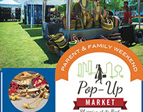 Parent & Family Weekend Pop Up Market