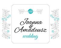 Wedding identity: J&A