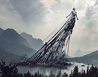 Pollution - Adobe Dimension project