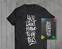 Agenda & T-shirt 2016