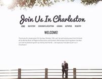 Wedding Website: JoinUsInCharleston.com