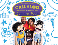 Callaloo Summer Tour Graphic