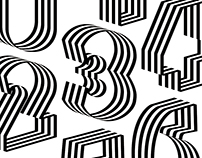 Numerography for #36daysoftype