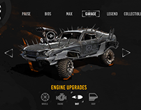 MAD MAX UI GAME                   (Personal Work)