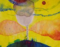 Medium Format Paintings