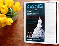 MassArt 2017 Fashion Show Advertisments