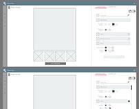 Standard player - wireframes - UI document