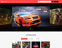 Movie Pro - Film and TV Show PSD Template