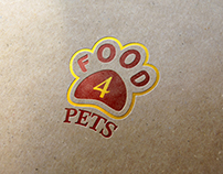 Logo for dog food