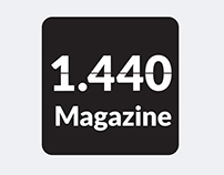 1.440 Magazine / Digital publishing project