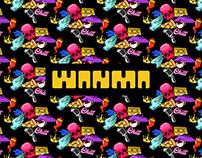 WANMA EFFEU texture & stickers