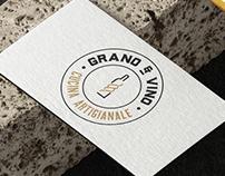 Identidade Visual Grano & Vino Restaurante Italiano