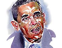 Portrait- Obama