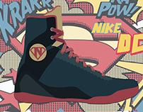 Nike koby DC COMICS