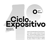 Primeiro ciclo expositivo - poster